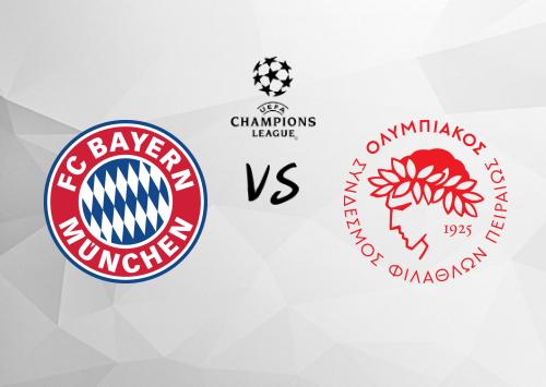 Bayern München vs Olympiakos Piraeus  Resumen y Partido Completo