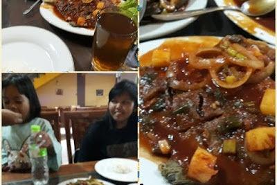 Menikmati Kepiting Saus Tiram Di Warung Seafood Ani Di GDC Depok