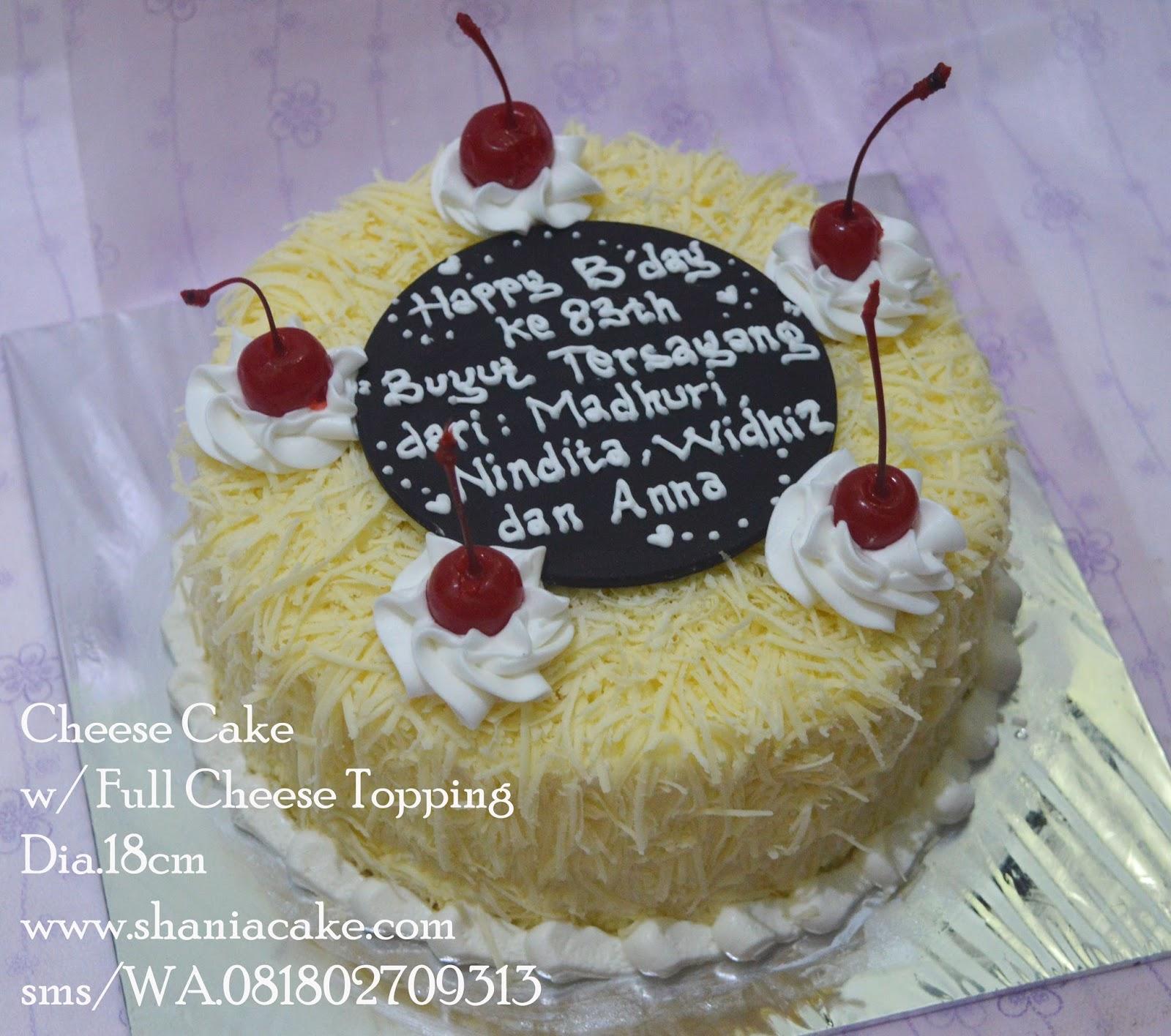Birthday Cake Jogja Cheese Cake Dr Mba Widhi Bandung Untuk Keluarga