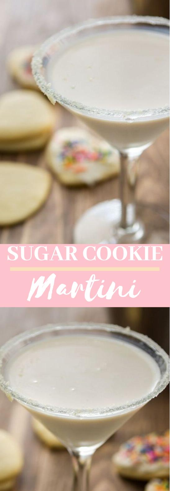 Sugar Cookie Martini #drinks #cocktails