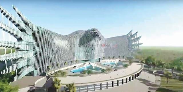 Konsep Burung Garuda Jadi Desain Baru Istana Negara di IKN