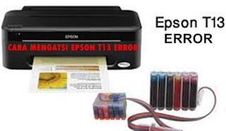 Error Printer T13