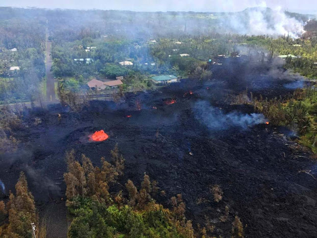More Fissures Open Up Across Island After Kilauea Erupution