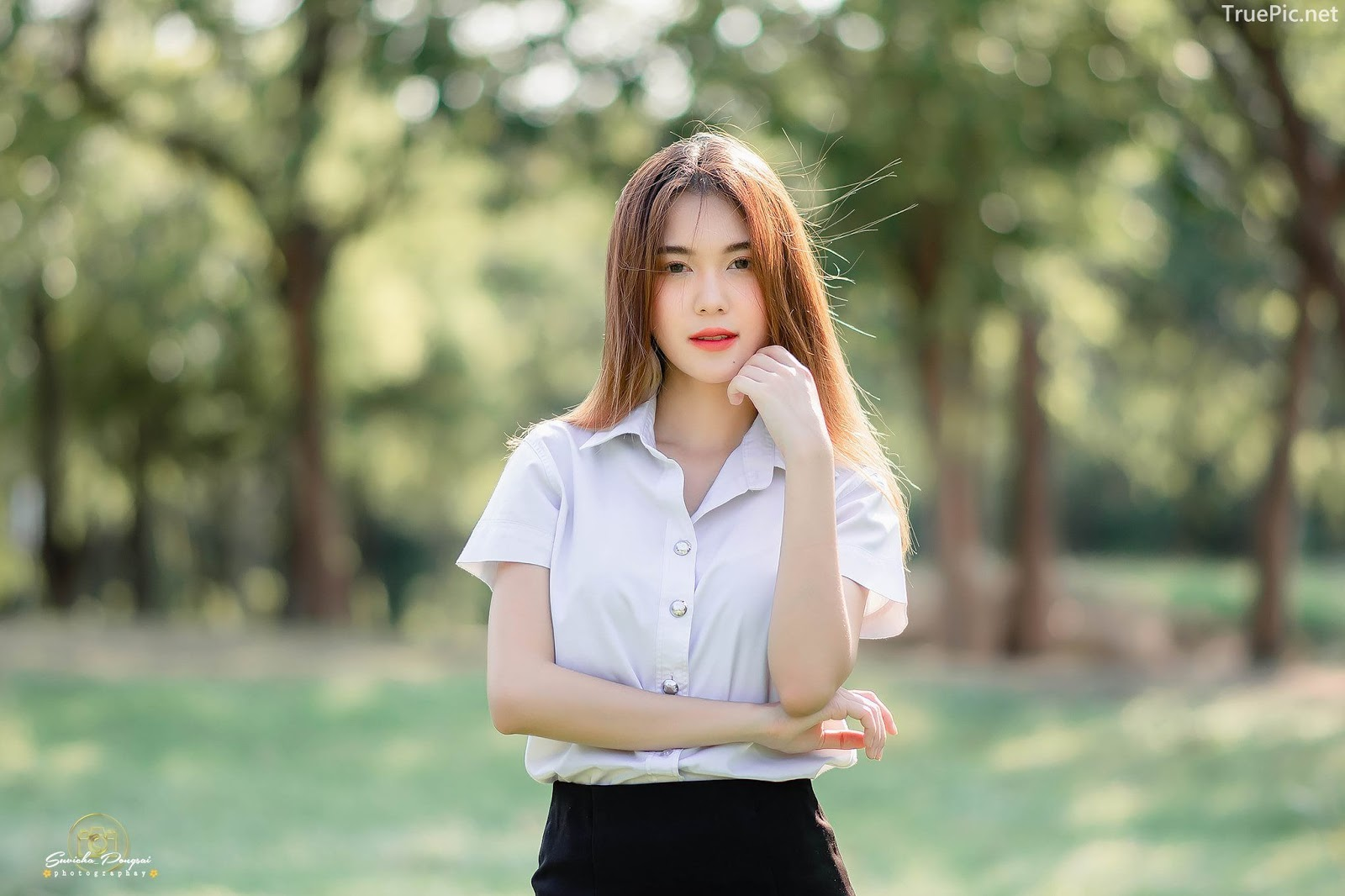 Image-Hot-Girl-Thailand-Pitcha-Srisattabuth-Cute-Student-With-a-Sweet-Smile-TruePic.net- Picture-6