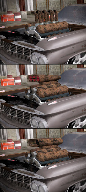 Motor do Tornado Rat Rod do GTA V para GTA San Andreas (Tuning Mod)