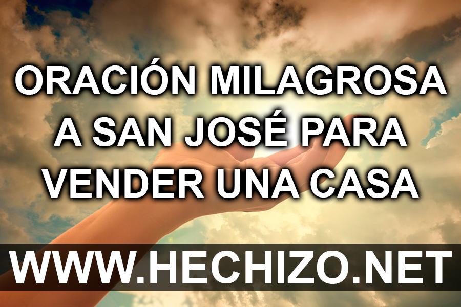 Oración Milagrosa a San José para Vender una Casa