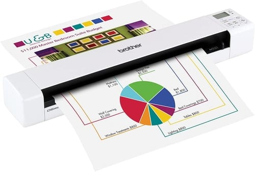 Review Brother DS-820W Mobile Color Page Scanner