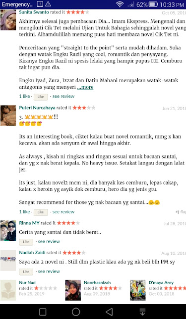 Review Novel Encik Imam Express