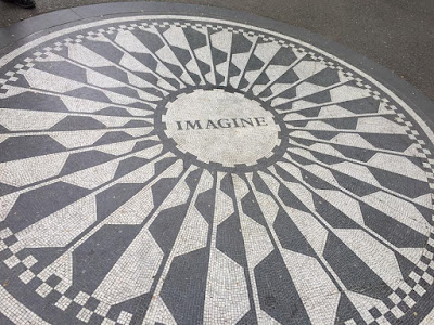 John Lennon memorial New York city