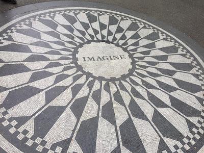 John Lennon memorial New York city