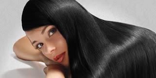 rambut hitam lurus