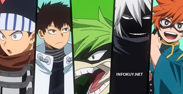 Sinopsis Boku no Hero Academia Season 5