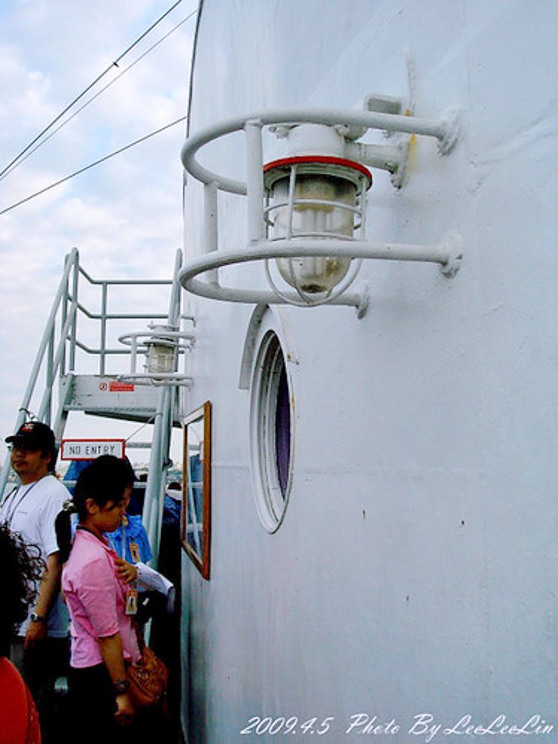 忠僕號郵輪|小鐵達尼號兩歲|捷運西子灣站高雄港漁人碼頭