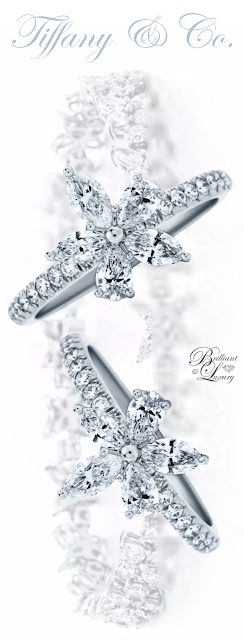 Brilliant Luxury ♦ Tiffany Victoria Ring and Bracelet