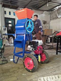 Mesin Pengupas Kulit Kopi Basah – Pulper Kopi – Portable dengan Roda