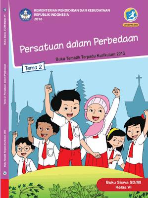 Kunci Jawaban Tematik Kelas 6 Tema 2 Persatuan dalam Perbedaan www.simplenews.me