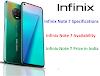 Infinix Note 7 और Infinix Note 7 Lite डिटेल्स: भारत में कीमत और स्पेसिफिकेशन