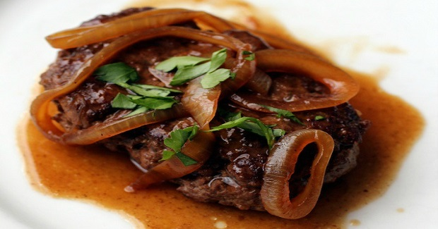 Salisbury Bistek: Filipino-Style Salisbury Steak With Calamansi And Onion Gravy Recipe