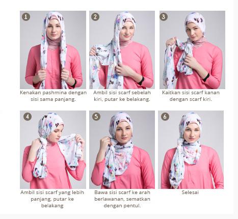 Cara Pakai Hijab Modern Anak Muda