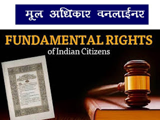 Fundamental Right Important Gk in Hindi