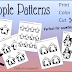People Patterns {For Prayer Chains, Saint Chains, Art Projects, and More!!}