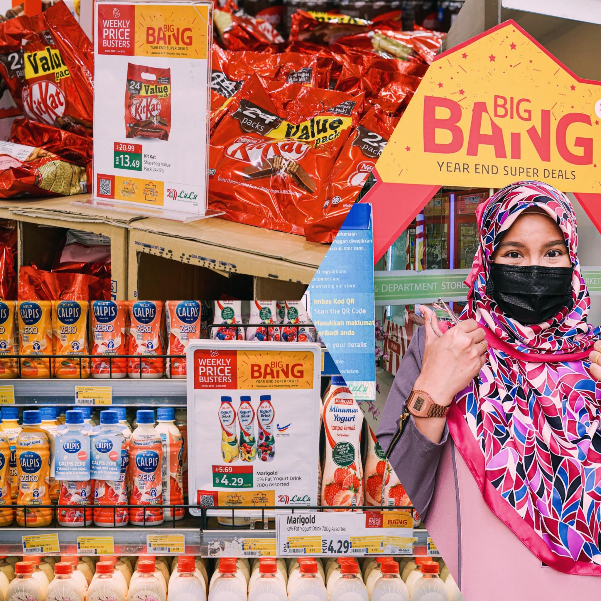 BIG BANG LULU HYPERMARKET - Hak Milik Ina Ainaa