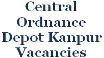 COD Kanpur, Ordnance Depot Jobs