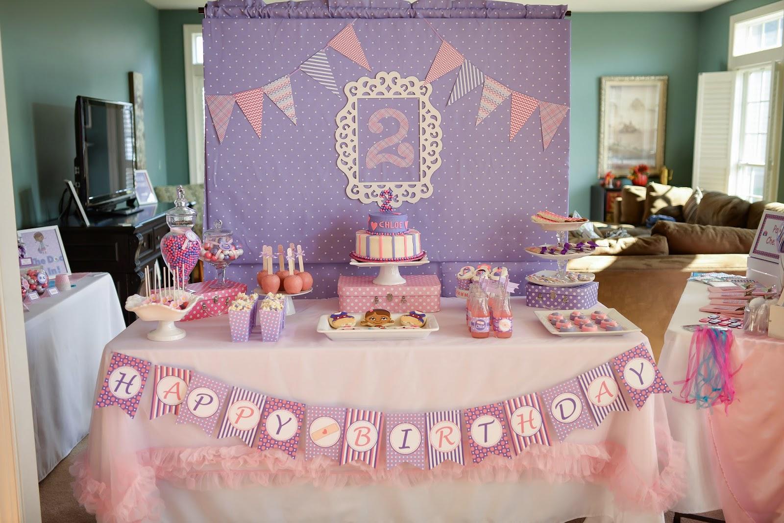 Muyamenocom Fiestas Infantiles Decoradas Con La Doctora Juguetes - Decoracion-mesas-fiestas