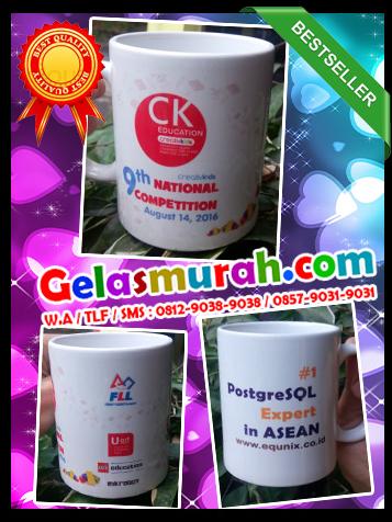 Pedagang Souvenir Gelas Berkualitas di Palmerah, Kota Jakarta Barat