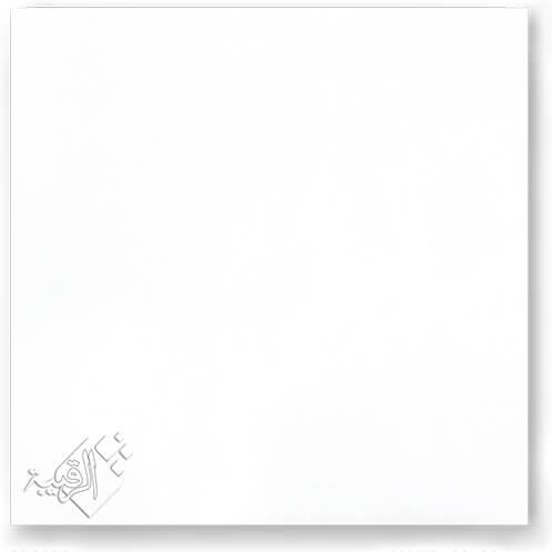 البلاطة ال 2سم 60×60سم رويال سيراميك / موديل MONO White