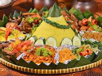 Makna Lauk dan Sayur yang Sering Menjadi Pendamping Nasi Tumpeng
