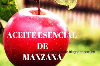El aceite esencial de manzana uno de los más populares por sus propiedades antioxidantes