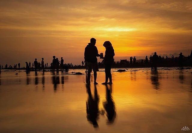 Tempat wisata Pantai parangtritis Bantul Yogyakarta
