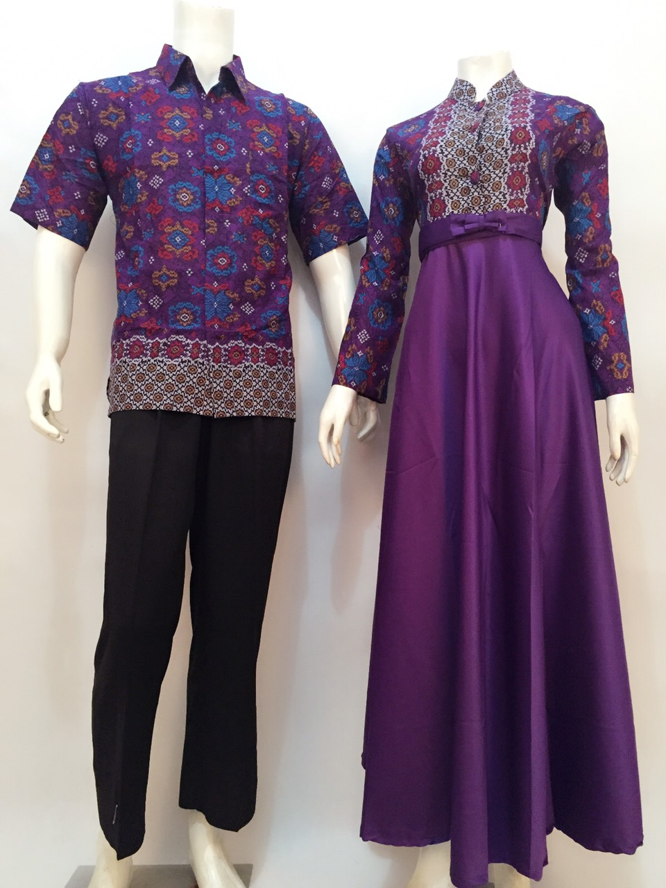 model gamis batik nataya