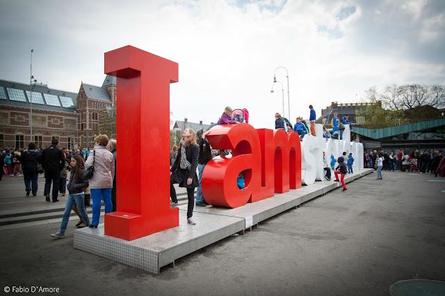 Scritta I amsterdam-Amsterdam
