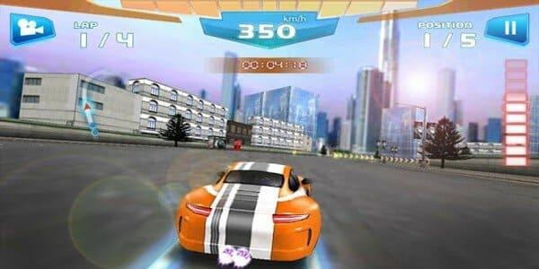 تحميل لعبة fast racing 3d مهكرة