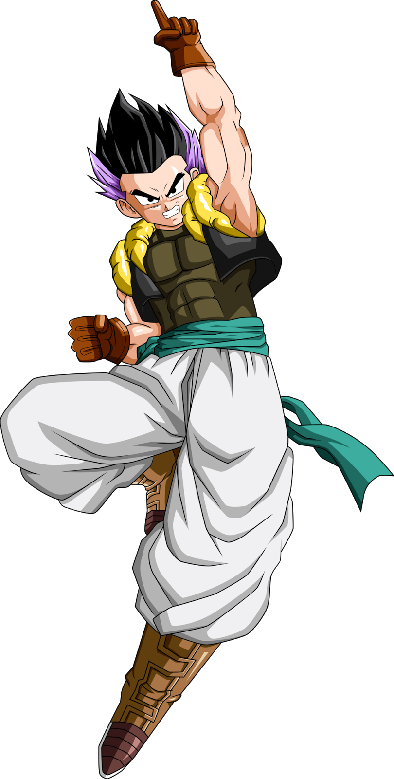 Trunks And Gotens Fusion Dance Dragon