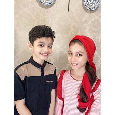 Ali Fikry dan Adiknya