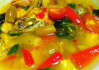 Papedah ikan kuah kuning
