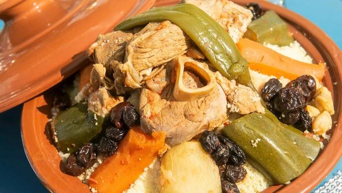 Algerian Couscous: Mediterranean Recipe