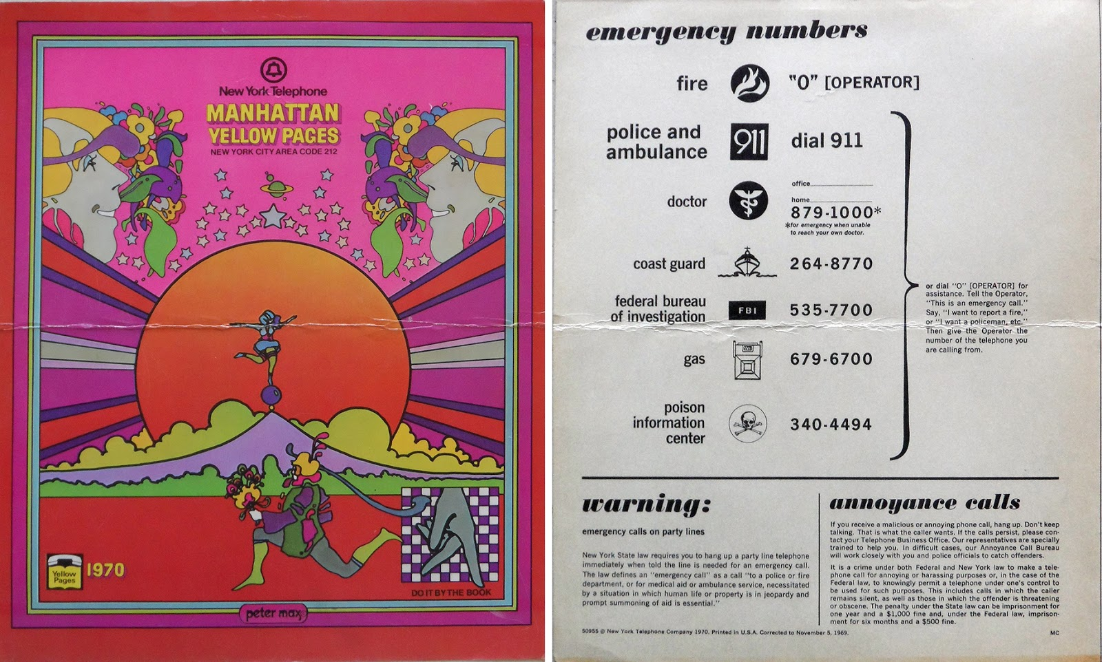 The Max Collector: 1970 MANHATTAN PHONE BOOK, 1967 McCALLS