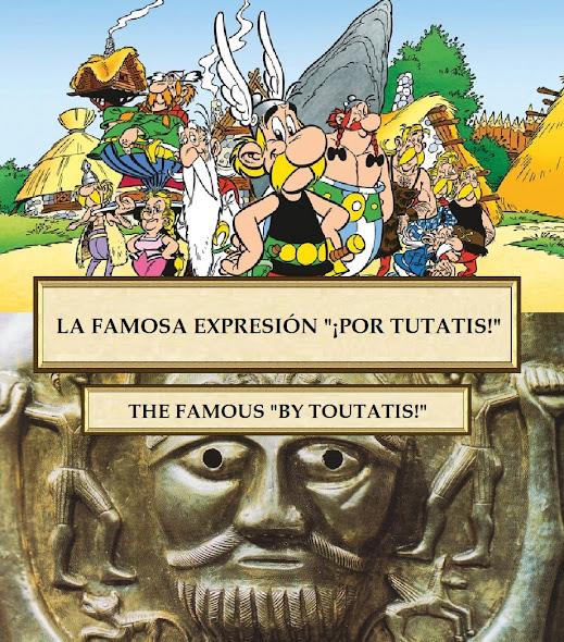 La famosa frase de Asterix y Obelix, por Tutatis