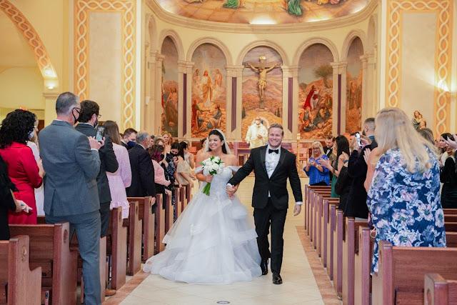 leaving church ceremony