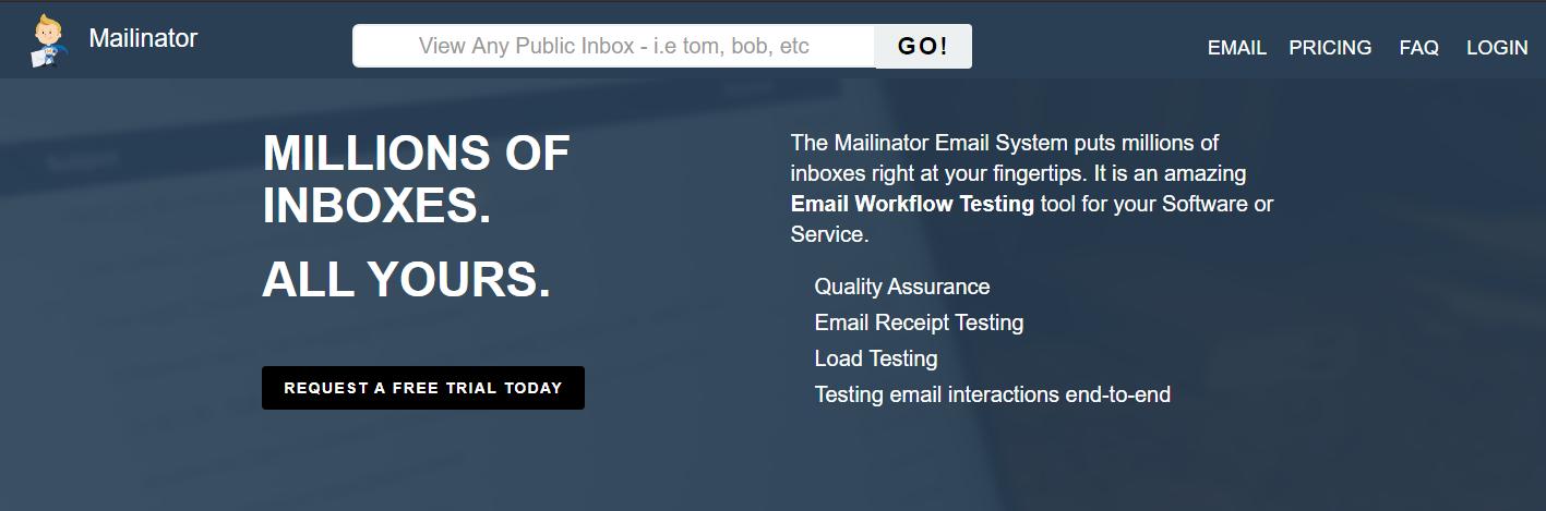 كيفية إنشاء البريد الإلكتروني المتاح على Mailinator