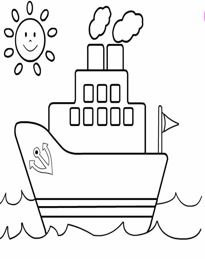 Dapatkan Mewarnai Gambar Perahu Layar