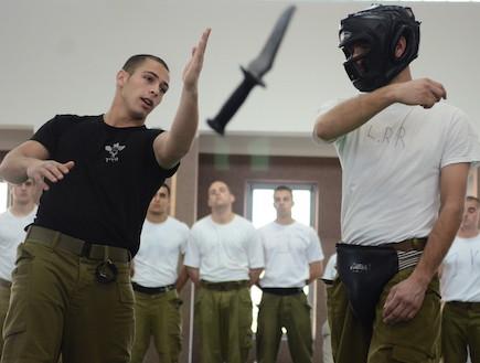 преподавание Крав Мага в Израильской армии
