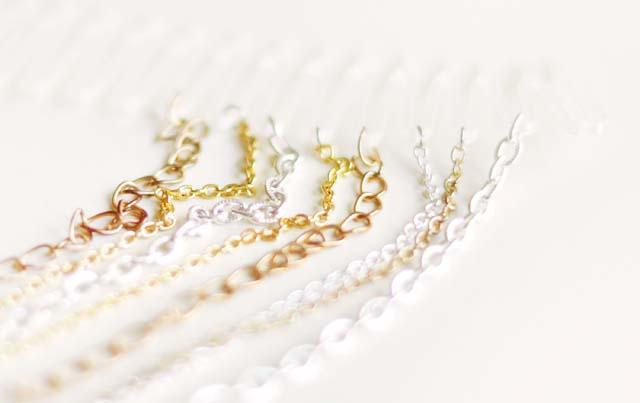 altın ve gümüş zincir modeleri