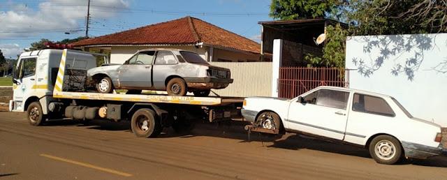 Roncador: Adeus veículos na rua...