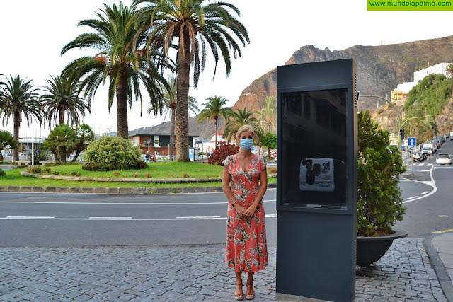 La Concejalía de Turismo instala un tótem digital en la Calle O'Daly para facilitar información turística