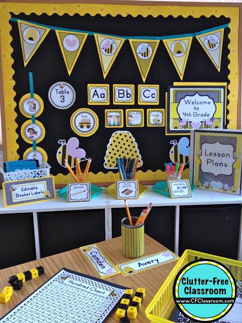Bees Themed Classroom - Ideas & Printable Classroom ...